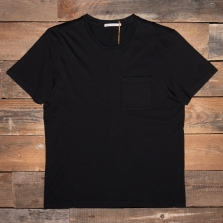 NUDIE 131687 Roy One Pocket T Shirt B01 Black