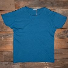 NUDIE 131484 Roger Slub T Shirt B32 Sky Blue