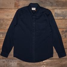 NUDIE 140680 Chet Pigment Dye Shirt B25 Navy