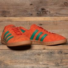 adidas Originals H00447 Hamburg Orange Green