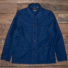 VETRA Moleskin Number 4 Short Work Jacket 3m09 Blue
