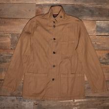 VETRA Light Herringbone Workwear Jacket 2v46 Cognac