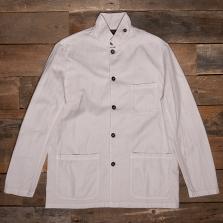 VETRA Light Herringbone Workwear Jacket 2v22 Pearl
