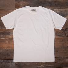 NIGEL CABOURN J-19 Embroidered Arrow 220grm Ss Tee Natural
