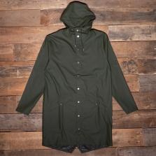 Rains Long Waterproof Jacket 03 Green