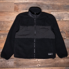 Rains Fleece Jacket 01 Black