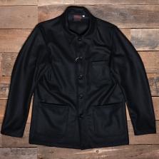 VETRA 2f10 Melton Wool Jacket Black