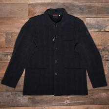 VETRA 5k12 Herringbone Melton Wool Jacket Grey
