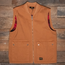 Stan Ray Works Vest Brown Duck