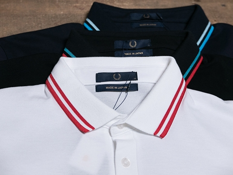 Fred Perry Made in Japan Pique Shirts