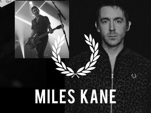 Fred Perry X Miles Kane 24-10-19